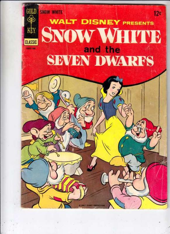 Movie Comic Snow White #10091-709 (Sep-67) VG Affordable-Grade Snow White and...
