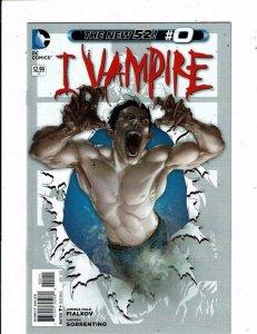 I VAMPIRE #0, NM, New 52, Sorrentino, Fialkov, DC, 2011 more in store