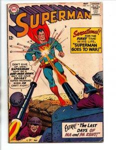 Superman #161 - Death of the Kents - KEY - 1963 - VG