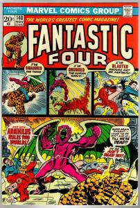 FANTASTIC FOUR 140 VG-  Nov. 1973