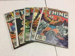 The Thing 1 3 4 6 7 Lot Vf Very Fine 8.0 Or Better Marvel Comics IK