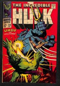 The Incredible Hulk #110 (1968)