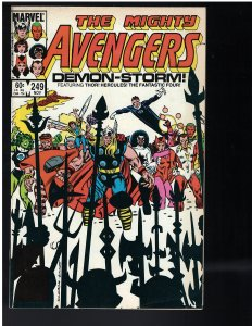 Avengers #250 (Marvel, 1984) VF/NM