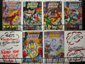 JUSTICE LEAGUE EUROPE 45-50 Red Winter complete story