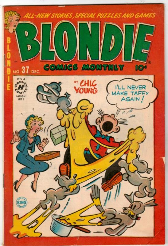 Blondie #37 (Dec-51) GD/VG- Affordable-Grade Blondie and Dagwood Bumstead