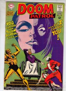 Doom Patrol #118 (Apr-68) FN+ Mid-High-Grade Proffesor, Negative Man, Elasti-...