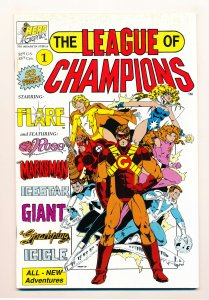 League of Champions (1990) #1 VF