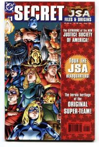 JSA Secret Files and Origins #1 Comic Book 1st Hawkgirl (Kendra Saunders)  NM-
