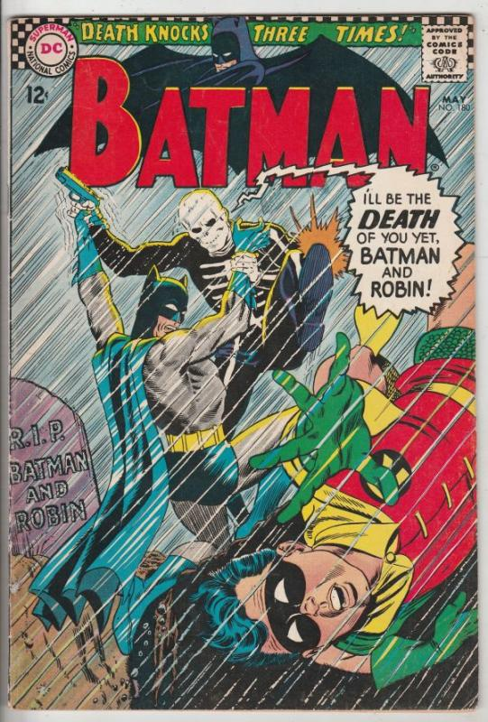 Batman #180 (May-66) VF High-Grade Batman