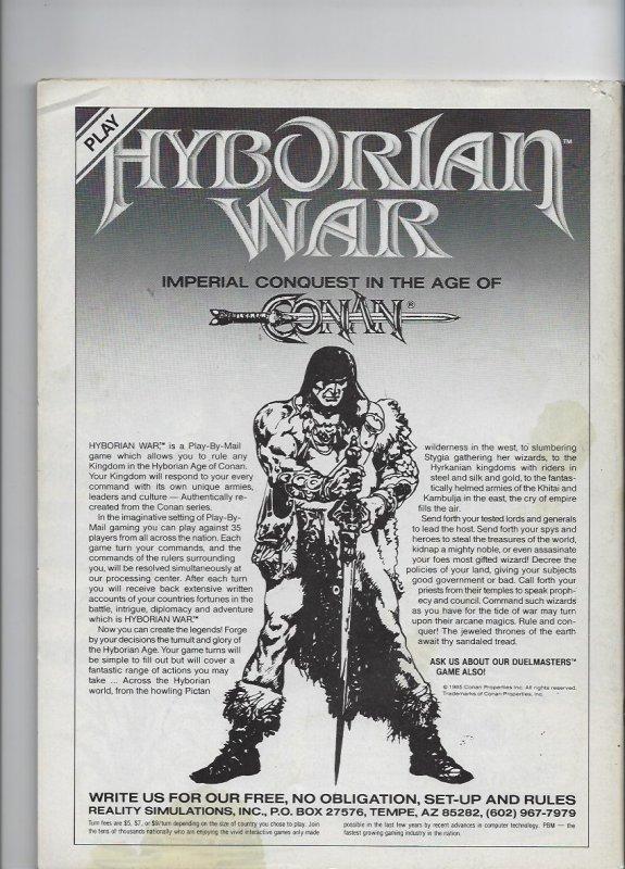 The Savage Sword of Conan #157 (1989)