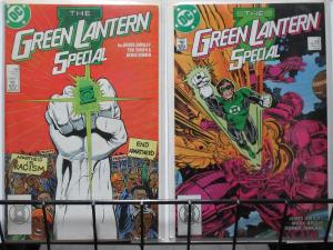 GREEN LANTERN SPECIAL (DC, 1988) #1-2 COMPLETE! VF-NM Wraps up Action Weekly