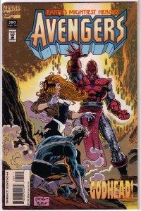 Avengers   vol. 1   #380 FN Harras/Deodato, High Evolutionary