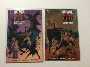 Batman The Ultimate Evil 1 & 2 NM Near Mint