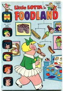 LITTLE LOTTA IN FOODLAND #22 1970-HARVEY COMICS GIANT FN-
