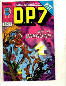 Lot of 10 DP7 Marvel Comic Book 18 10 9 8 7 6 5 4 3 2 New Uinverse Antibody DS2