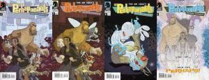PERHAPANAUTS SECOND CHANCES (2006 DH) 1-4  COMPLETE!