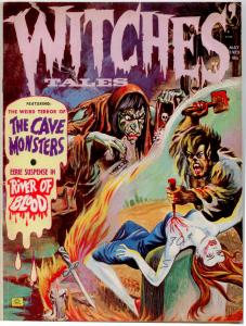 Witches Tales V5 #3 NICE MID-GRADE HORROR MAGAZINE