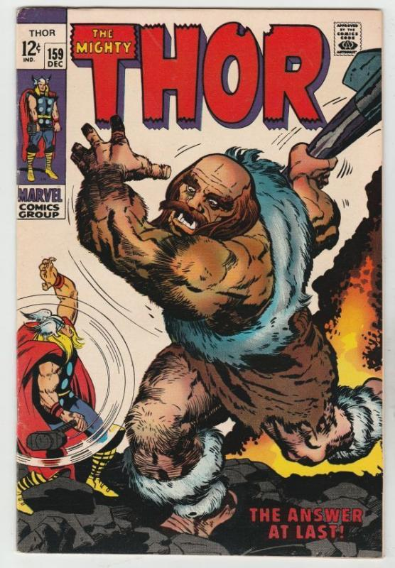 Thor #159 The Mighty strict VF/NM 9.0 High-Grade   Appearance - Odin  Richmond