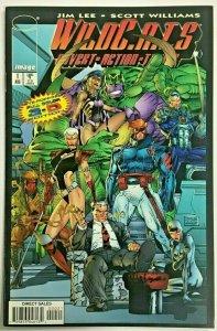 WILDCATS#1 VF/NM 1997 3-D EDITION JIM LEE IMAGE COMICS