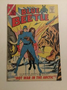 Blue Beetle Volume 2 #2 Good/very Good 3.0 Tape On Spine Water Damage Charlton