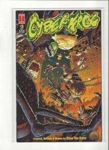 Cyber Frog #3 Harris Comics Ethan Van Sciver NM