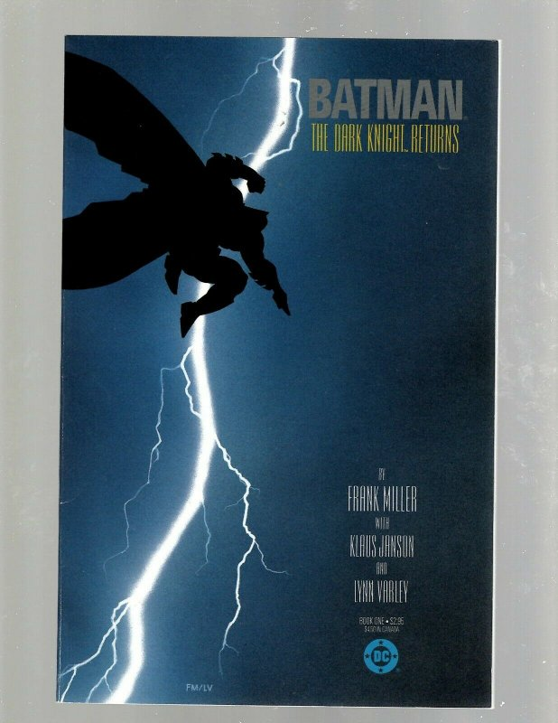 Batman The Dark Knight Returns # 1 VF/NM DC Comic Book Robin Gotham Joker J450
