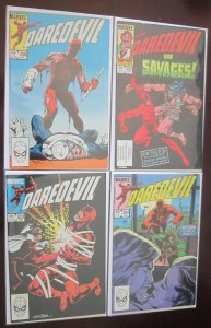 Daredevil Comics Lot: #200-299 (33 DIFF) 8.0 VF (1983-1987)
