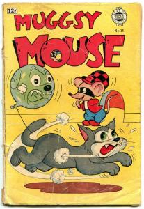 Muggsy Mouse #14 1963-Super Golden Age reprints Funny Animals F/G