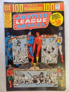 DC 100 PAGE SPECTACULAR # 17 JUSTICE LEAGUE OF AMERICA