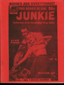BOOKS ARE EVERYTHING #1-1988-PAPERBACK FANZINE-RARE FN