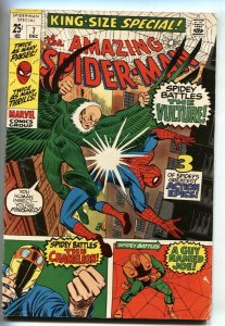 AMAZING SPIDER-MAN ANNUAL #7 1970-VULTURE-Chameleon FN
