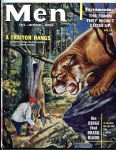 Men Magazine December 1952- Facists Hangs- Boxing