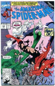 AMAZING SPIDER-MAN #342 1990-MARVEL COMICS NM