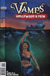 Vamps: Hollywood And Vein #4 VF/NM; DC/Vertigo | save on shipping - details insi