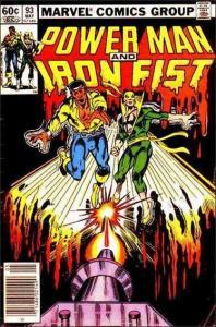 Marvel POWER MAN AND IRON FIST (1978 Series) #93 VF