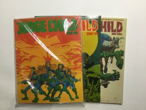 Judge Child 1-3 1 2 3 Magazine Lot Near Mint Nm Titan Books