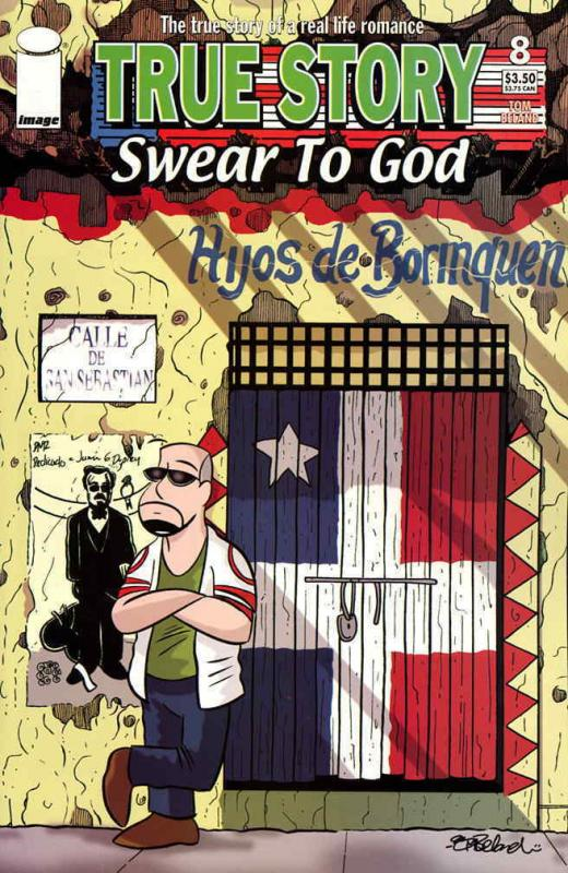 True Story Swear to God (Vol. 2) #8 VF/NM; Image | combined shipping available -