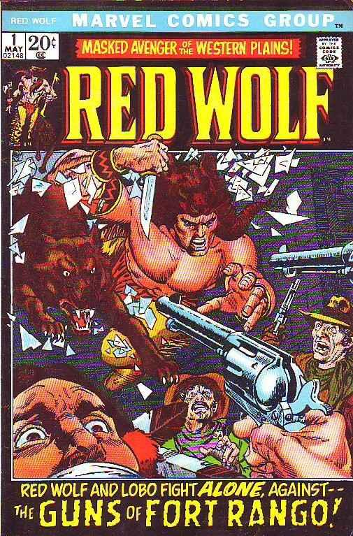 Red Wolf #1 (May-72) FN/VF+ Mid-High-Grade Red Wolf, Lobo