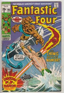 Fantastic Four #103 (Oct-70) FN/VF Mid-High-Grade Fantastic Four, Mr. Fantast...