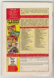 Classics Illustrated #91 (Jan-52) VF High-Grade