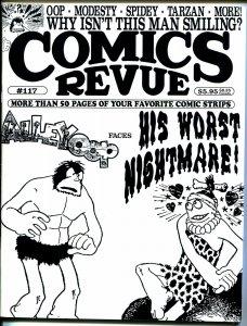 Comics Revue #117 1995-V T Hamlin-Alley Oop-Tarzan-Spider-man-Modesty Blaise-VF