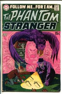 THE PHANTOM STRANGER #2-1969-DC-MYSTERY-15¢-COVER PRICE-vg