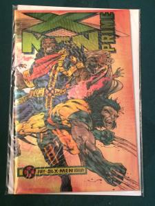 X-Men Prime metallic/reflective cover