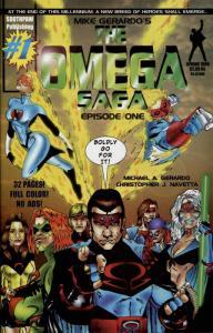 Omega Saga #1 FN; Southpaw   save on shipping - details inside