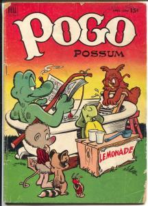 Pogo #9 1962-Dell-Walt Kelly art-15¢ cover price-G
