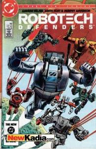 Robotech Defenders #1, VF- (Stock photo)