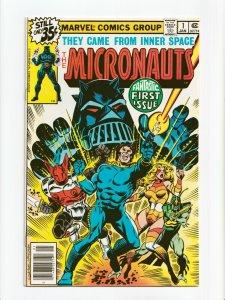 The Micronauts #1 1st appearance Micronauts, Baron Karza Marvel Comics 1979 NM