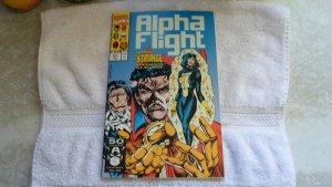 1991 MARVEL COMICS ALPHA FLIGHT # 101