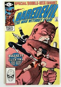 Daredevil #181 Marvel 1982  NM-  Bullseye Key  Death of Elektra 1981 Comic Book