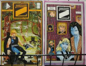 DIMENSION Z (1986 PY) 1-2 THE SET! Scarce Indie